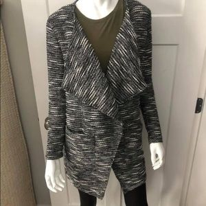 Dynamite Open Sweater with Pockets